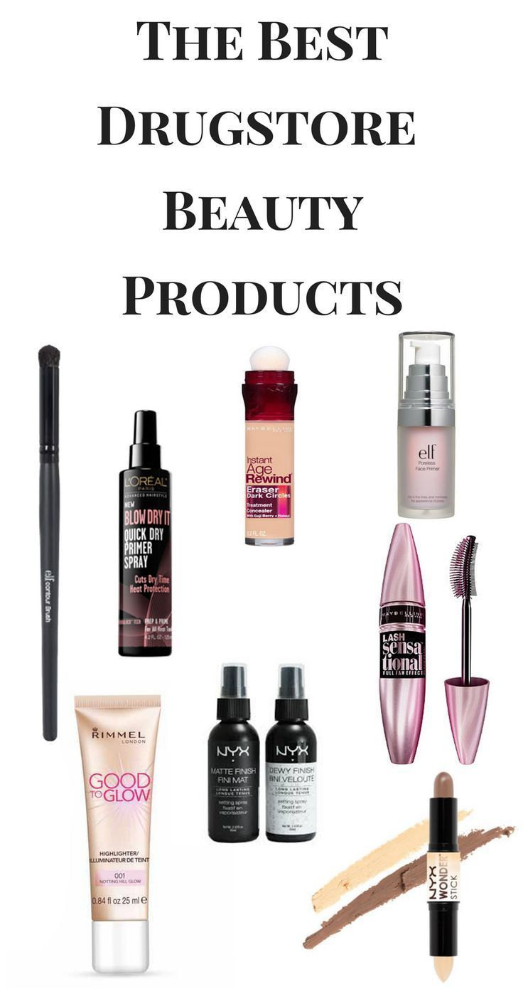 The Best Drugstore Beauty Products on the market today!...