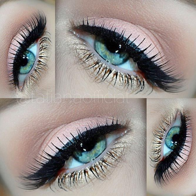 The ideal makeup for blue eyes is the one that involves the shades that can enha...