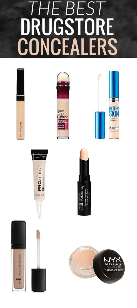 these 7 best drugstore concealers have got you covered - from under eye darkness...