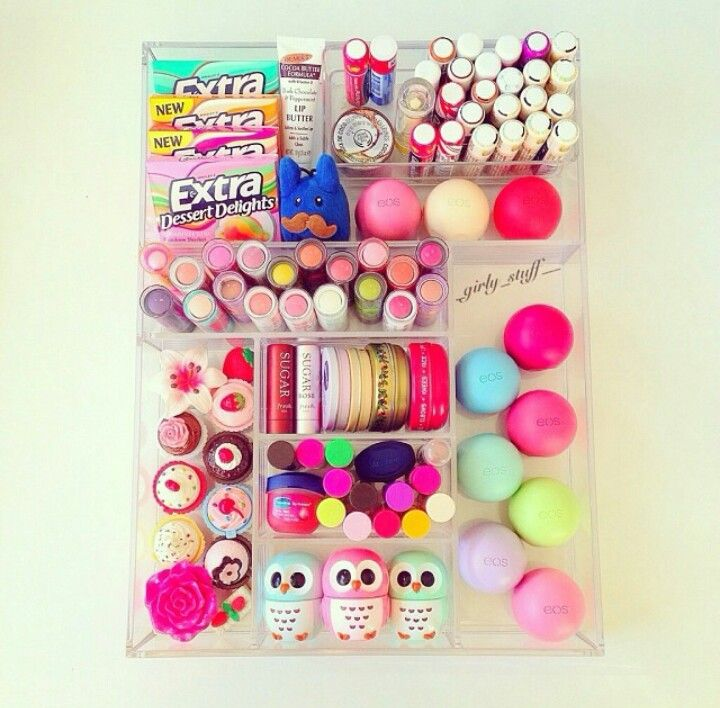 This is cute! :) I would never have that much Chapstick butttt I like the way it...