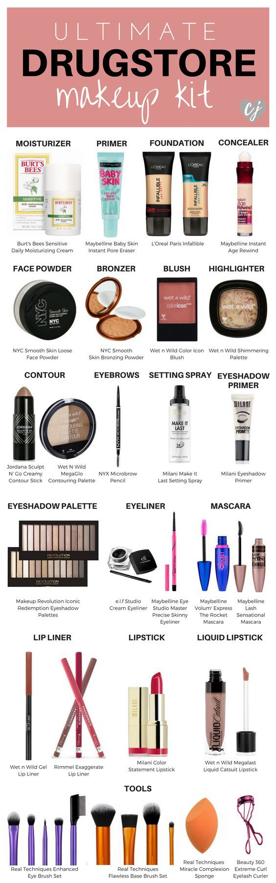 This is your ultimate guide to drugstore makeup! I've rounded up the best of...