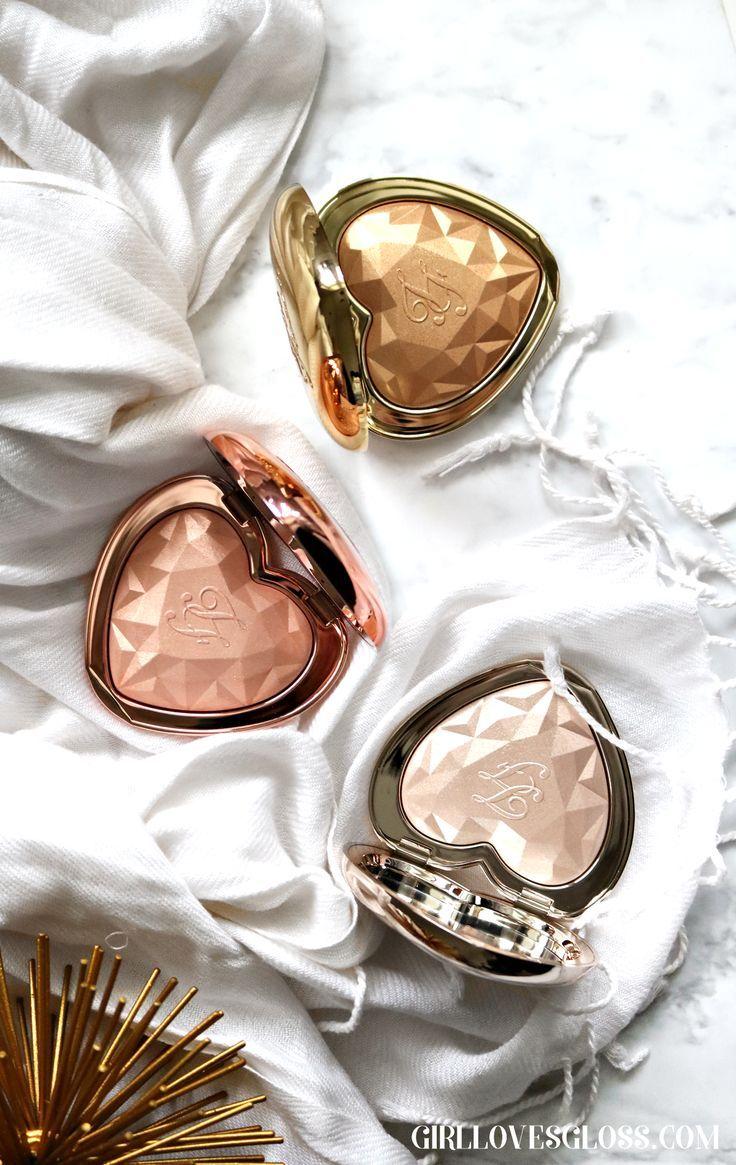 Too Faced Love Light Prismatic Highlighters • Girl Loves Gloss Pinterest || Ev...