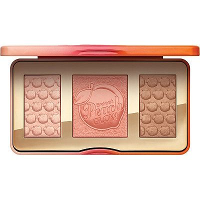 Too Faced Sweet Peach Glow! This illuminating, blushing, and bronzing palette gi...
