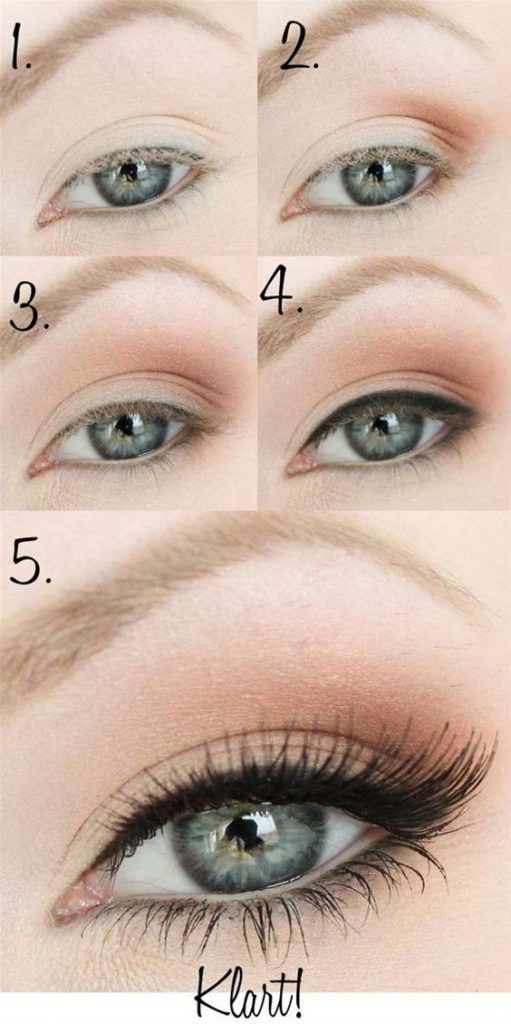 top-12-naked-eye-makeup-tutorial-best-famous-fashion-design-trick-look-idea (6) ...