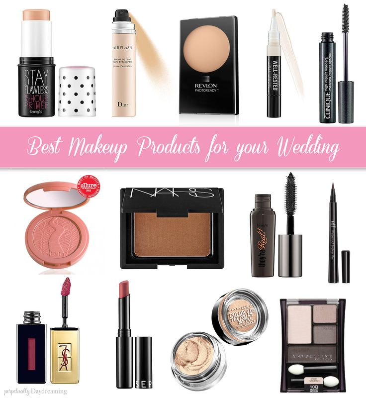 Top Makeup Products for Brides || Perpetually Daydreaming, bridal makeup, weddin...