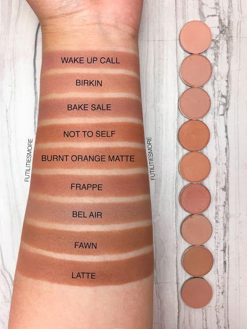 TRANSITION SHADES medium browns: Colourpop VS Anastasia Beverly Hills VS makeup ...