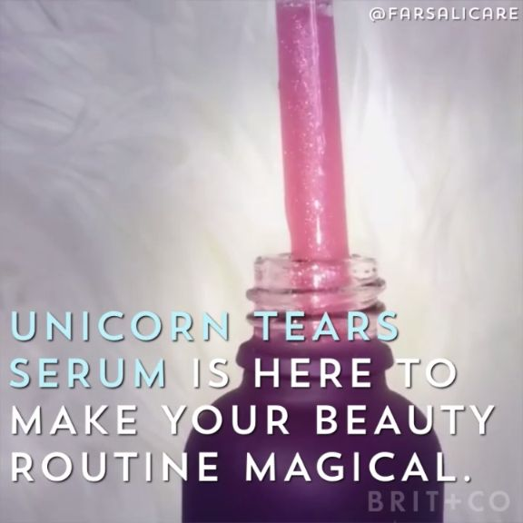 Unicorn tears serum is the latest beauty trend you need to try....