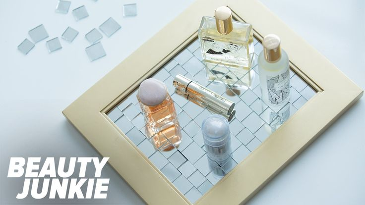 We're Obsessed With This Homemade Vanity Tray