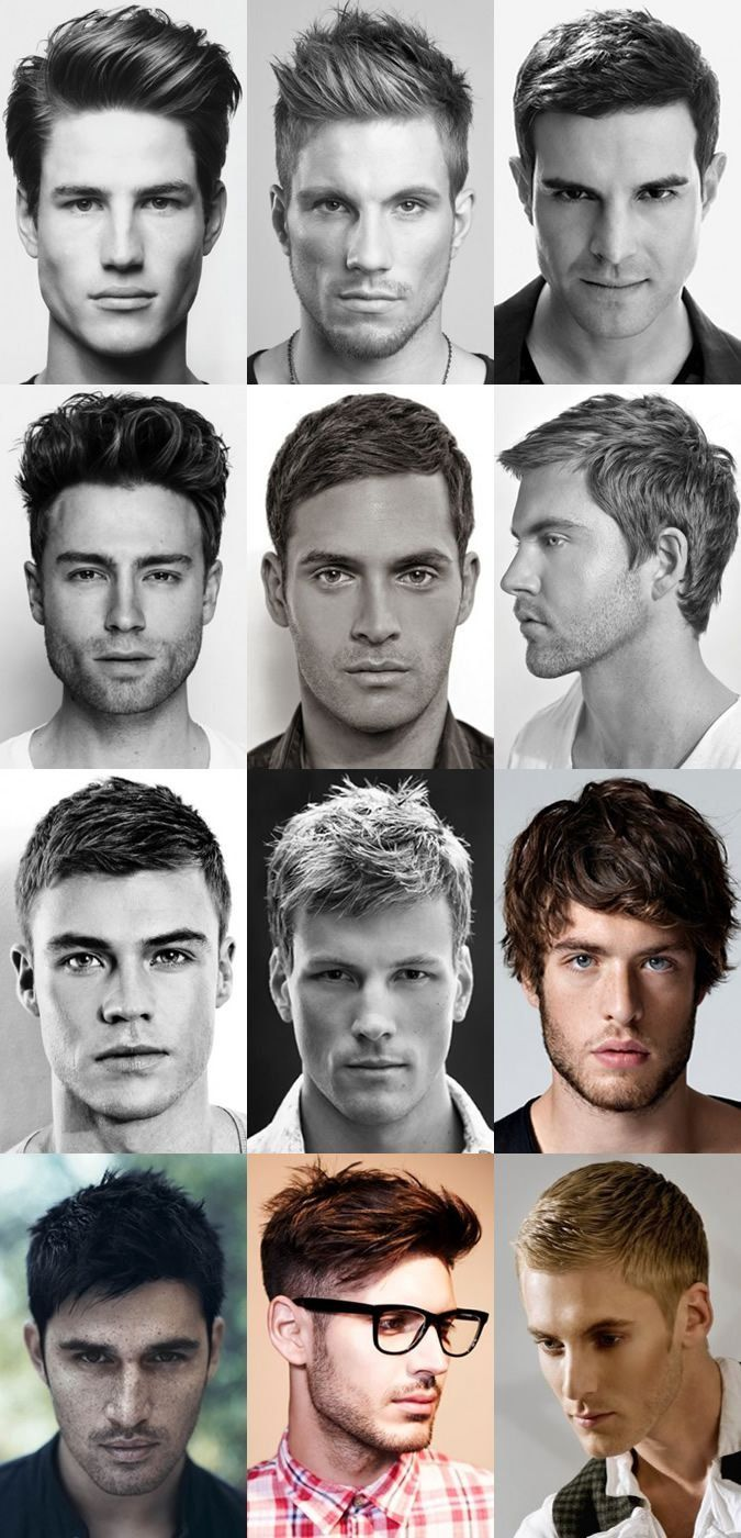 Great hairstyles for men.