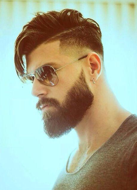 hair + beard