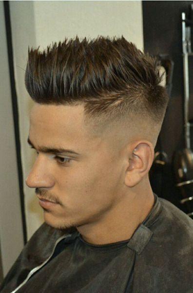 Haircut.             Faux hawk spilky