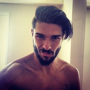 Hello! This sexy and confident early riser. | 27 Men's Undercuts That Will A...