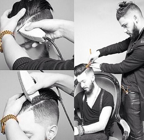 HOW-TO: Hard Part I'm not sure why, but I adore this hair cut. It's diff...