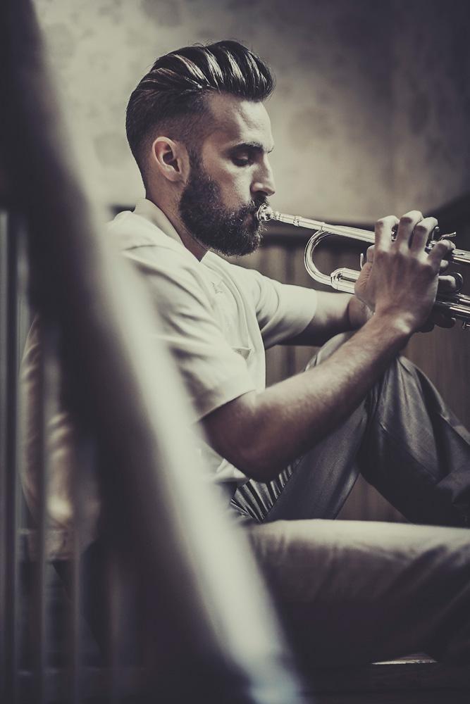 Latin Jazz Collection: A Modern Twist on Men's '50s Era Hairstyles | Modern Salo...