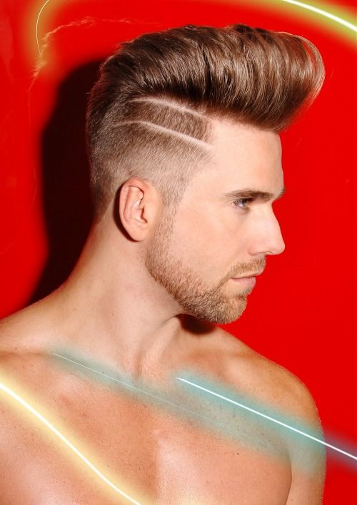 Men's Hair, Haircuts, Fade Haircuts, short, medium, long, buzzed, side part,...
