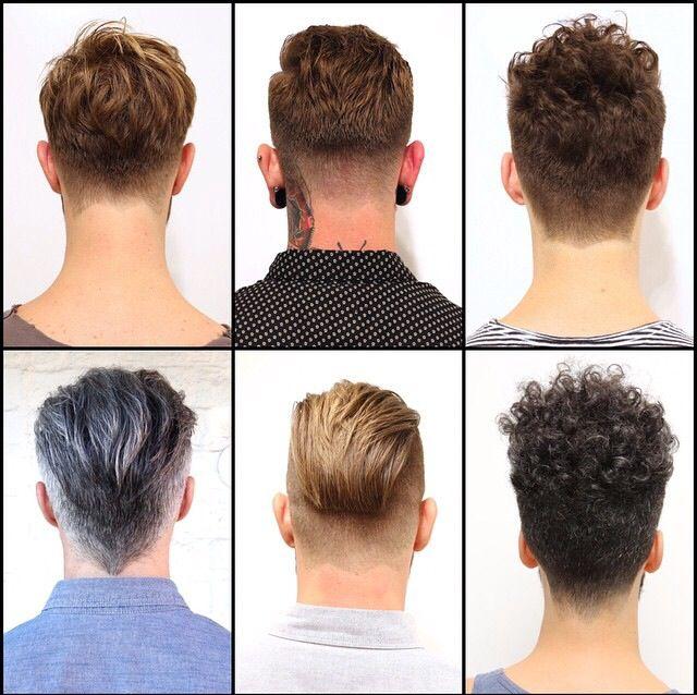 Men's hair...