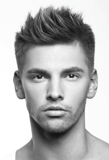 Men's Haircut @Erika McCann Patel ~ show this to Evan. What do you think?...