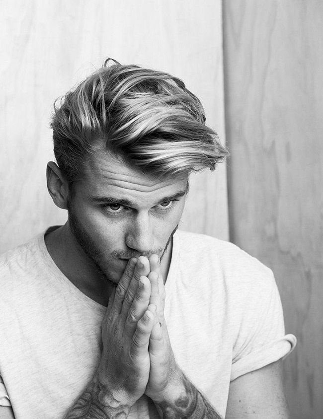 Men Haircuts Mens Hairstyle Trends For 2016 Flashmode Middle