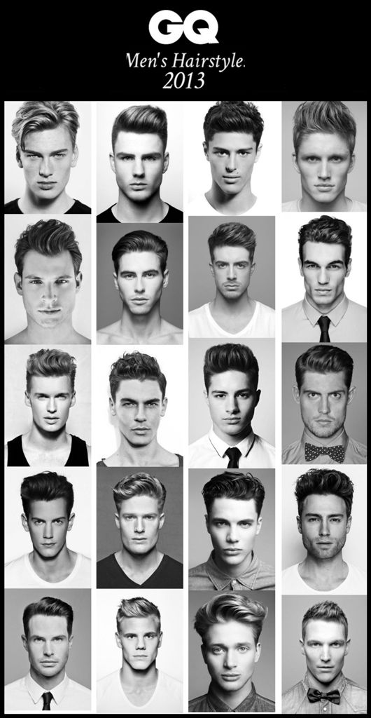 Men's hairstyles for 2013. Which one are you sporting? #maletrends #menshair #me...