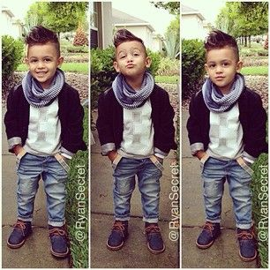 This guy, who has the effortlessly cool thing down. | 21 Kids Who Were Cooler Th...