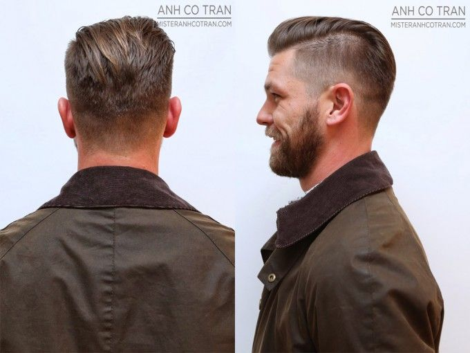 Undercut Side And Back View: Slin Fade Tapering   Undercut Hairstyle: 45 Stylish...