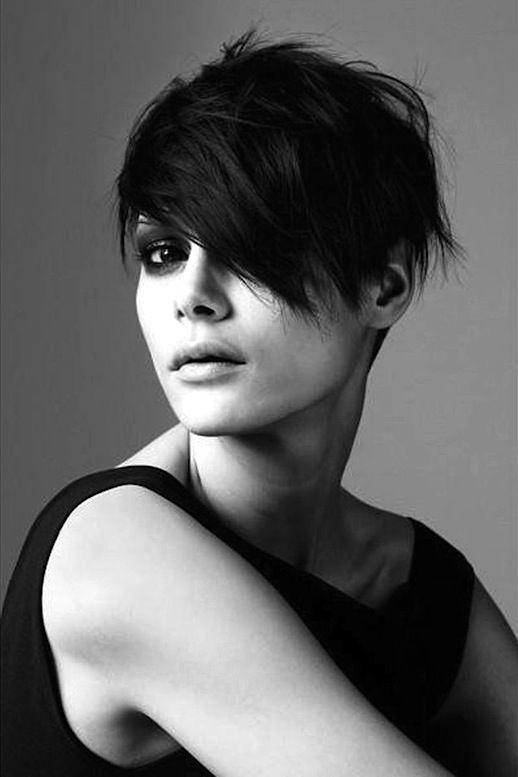7 Le Fashion Blog 20 Inspiring Short Hairstyles Asymmetrical Hair Via Elle Franc...