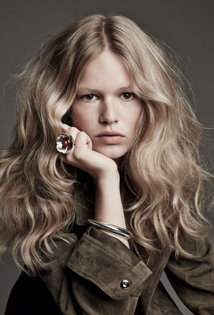 Anna Ewers by Patrick Demarchelier for Vogue Germany March 2015