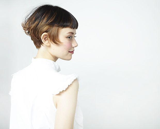Double/柏 佳代子 HAIR CATALOG.JP Double SHORT