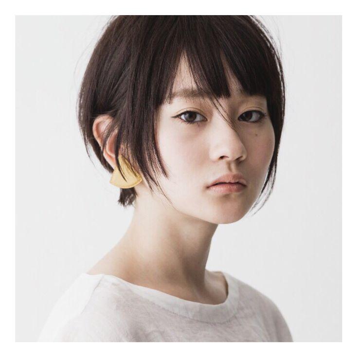 HAIR STYLIST▶GARDEN Tokyo/China Akiba #CYAN #HAIRSTYLE #HAIRSALON #SHORTHAIR...