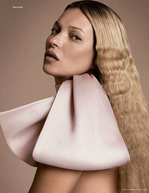 Kate Moss styled by Charlotte Stockdale and photographed by Daniele Duella and I...