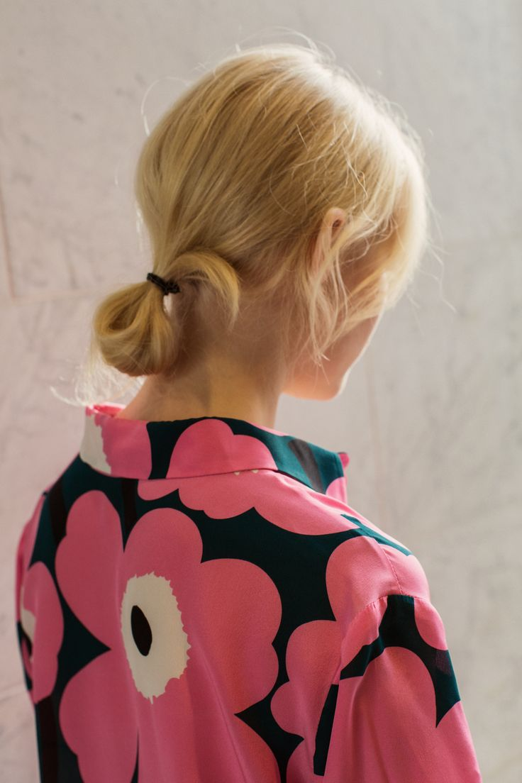 Marimekko AW15 Pavot silk shirt