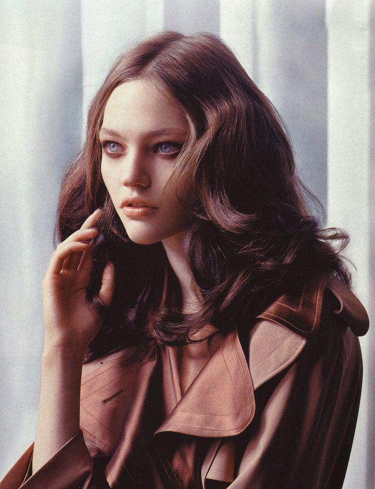 Sasha Pivovarova by Lachlan Bailey for Vogue China October 2005 #photography #ha...