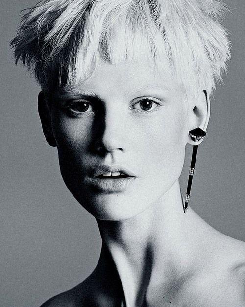 Saskia de Brauw photographed by Mert & Marcus for Versace