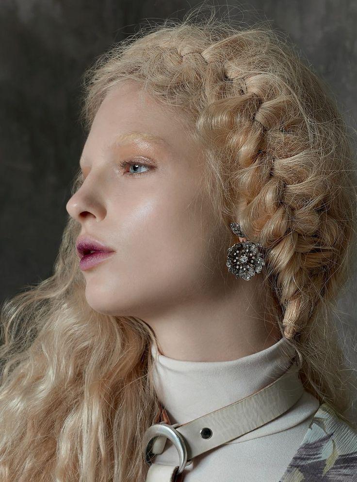 Vogue Italia  - Michael Baumgarten - 2016 makeup by Lisa Eldridge www.lisaeldrid...
