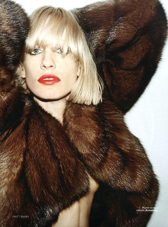 Vogue Russia - Natasa V November 2008...