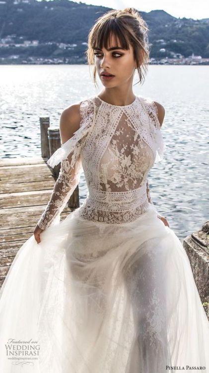 Wedding Inspiration - (via Pinella Passaro 2018 Wedding Dresses ...