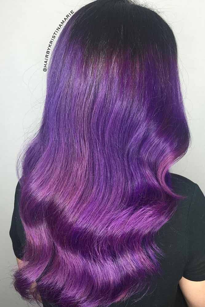 Dark purple hair: let us discuss the basics at first. This hair color is unnatur...