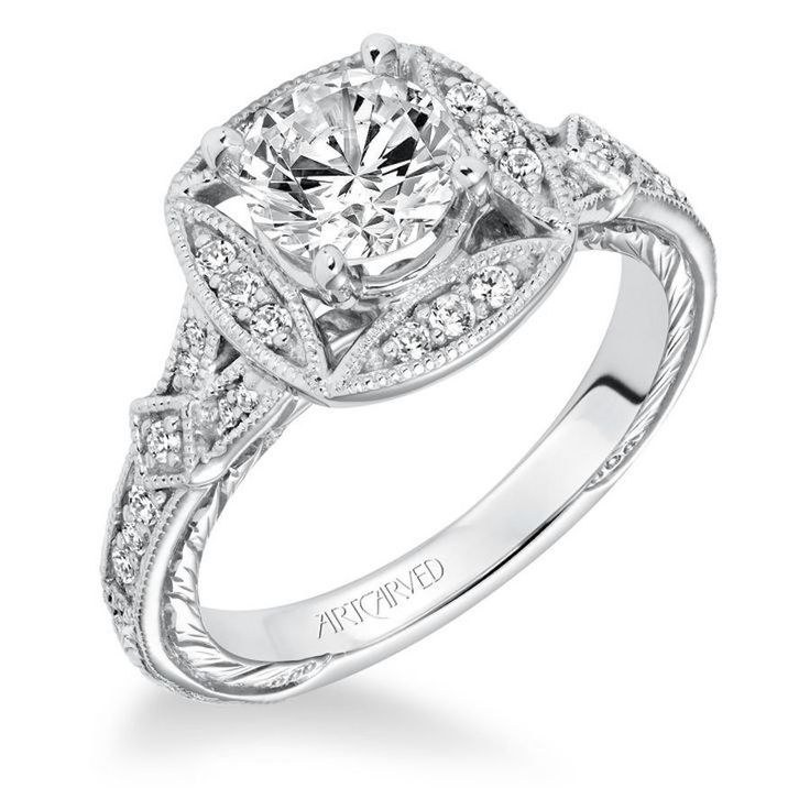 Dazzling Scott Kay engagement ring from JCK Las Vegas: www.stylemepretty... #spo...