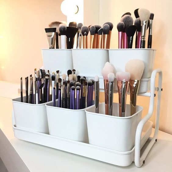 18 of the internet's BEST beauty storage hacks