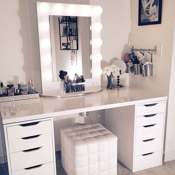 The Dresser   Organize Your Makeup With These 17 Cool DIY Organizer. From Repurp...