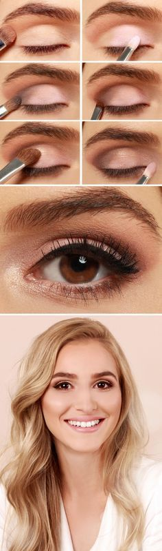 Eye Makeup Tutorial.. www.caring.in.net... ..Hey ladies with brown Eye Makeup Tu...