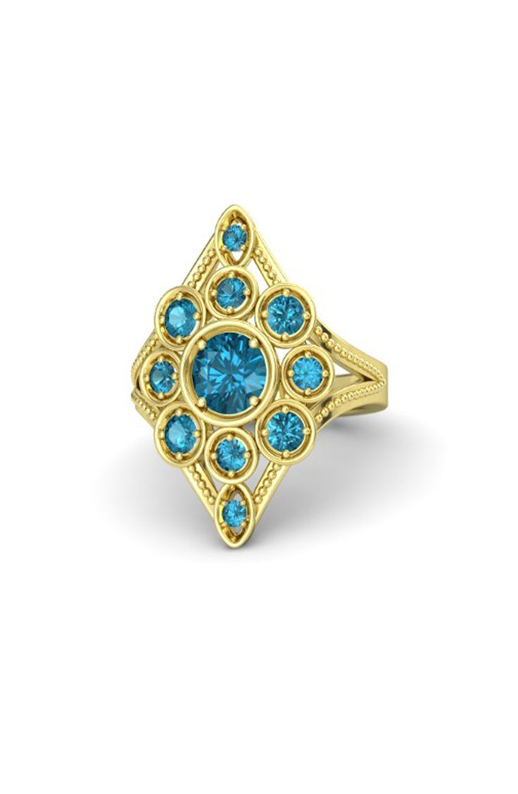 Jasmine's fairytale engagement ring: www.stylemepretty...