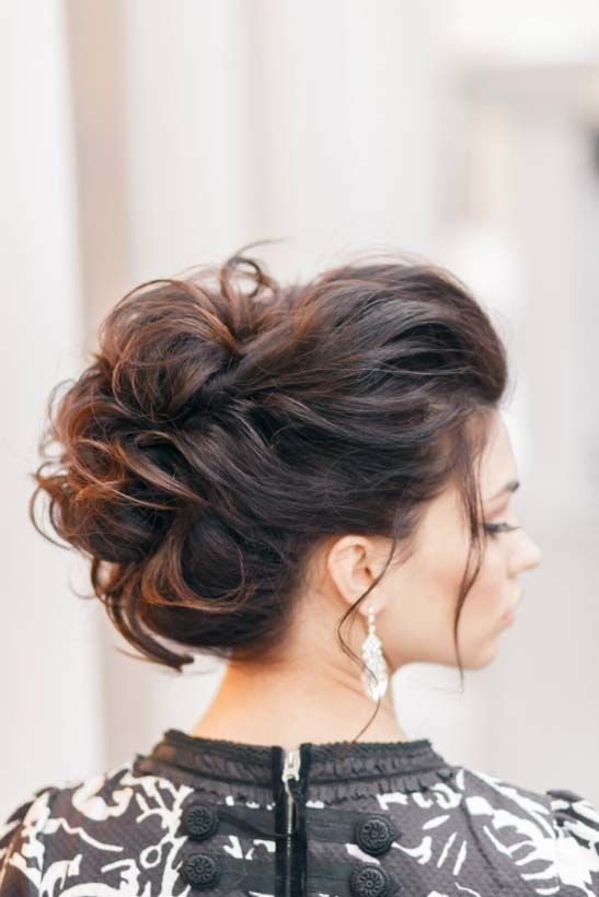 Best Hairstyles For 2017 2018 10 Pretty Messy Updos For Long Hair