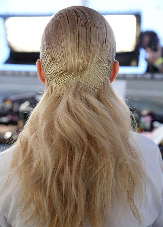 14 Hairstyles That Prove Bobby Pins Are the Only Hair Accessory You Need via Bri...