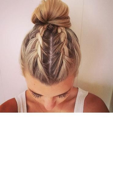 2nd August: Braids Into A Bun - The wonderful Becky of @dooftheday creates a dif...
