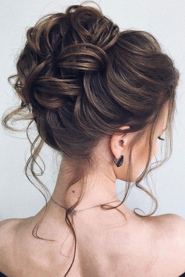 Beautiful updo wedding hairstyle idea #weddinghair #hairstyle #updo #weddingupdo...