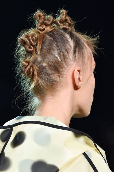 Best Hairstyles For 2017 2018 Best Beauty Nyfw Spring 2015 The Raver Knots Flashmode Middle East Middle East S Leading Fashion Modeling Luxury Agency Featuring Fashion Beauty Inspiration Culture