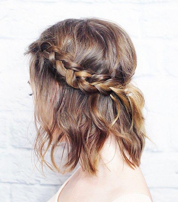 Crown braid//