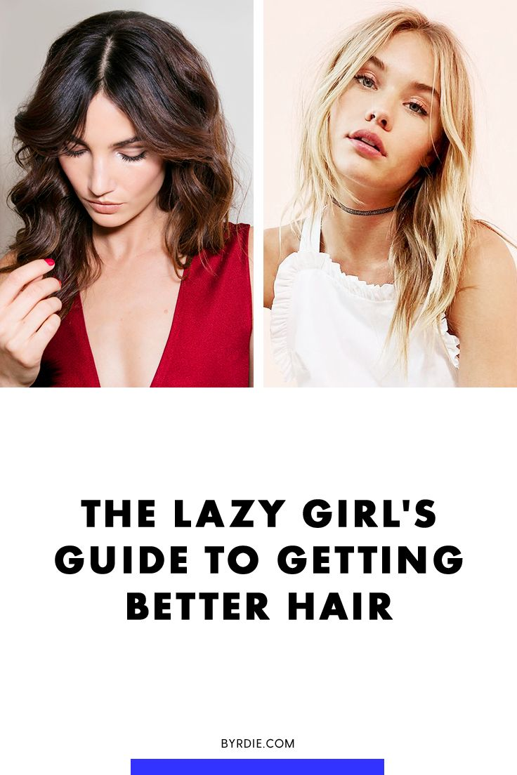 How to get better hair without trying