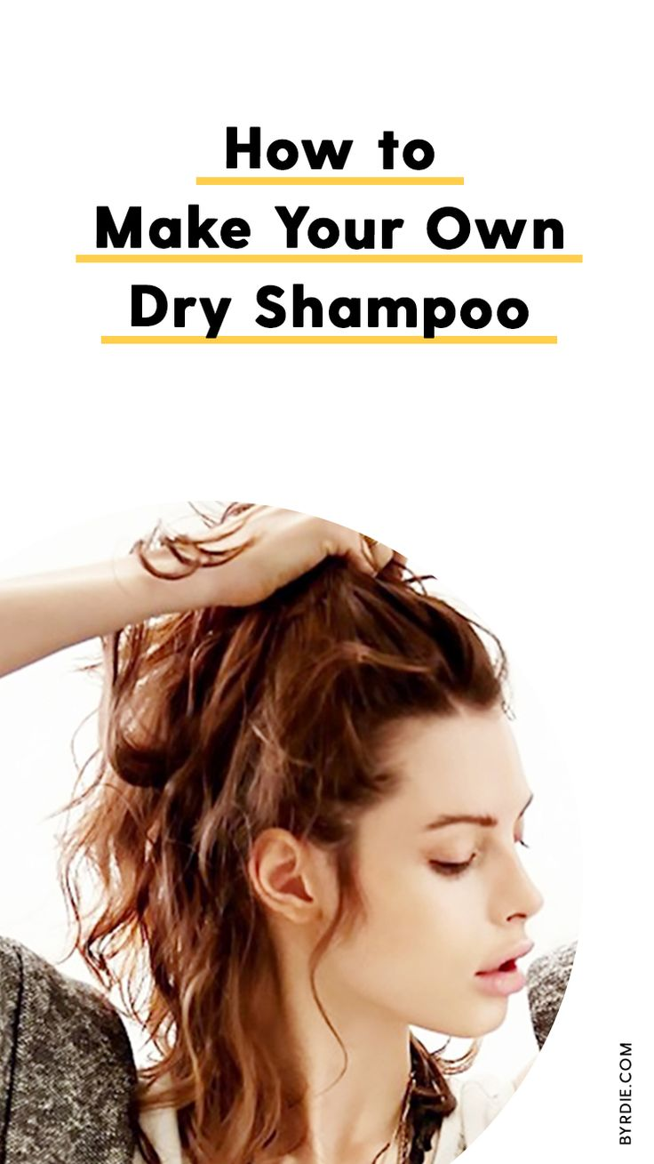 How to make your own dry shampoo